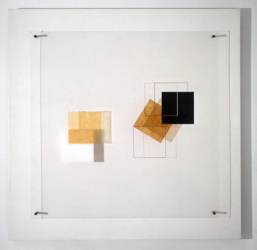 Jesús Rafael Soto Composición en cubo 1955