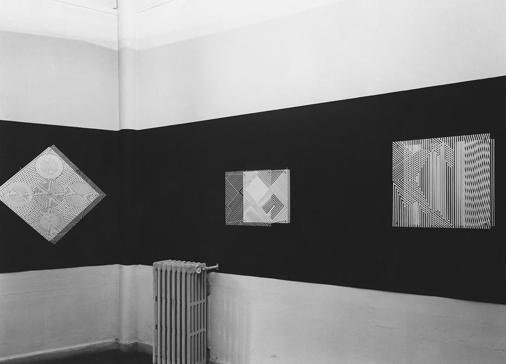 Soto exhibition Denise René Gallery Paris 1956