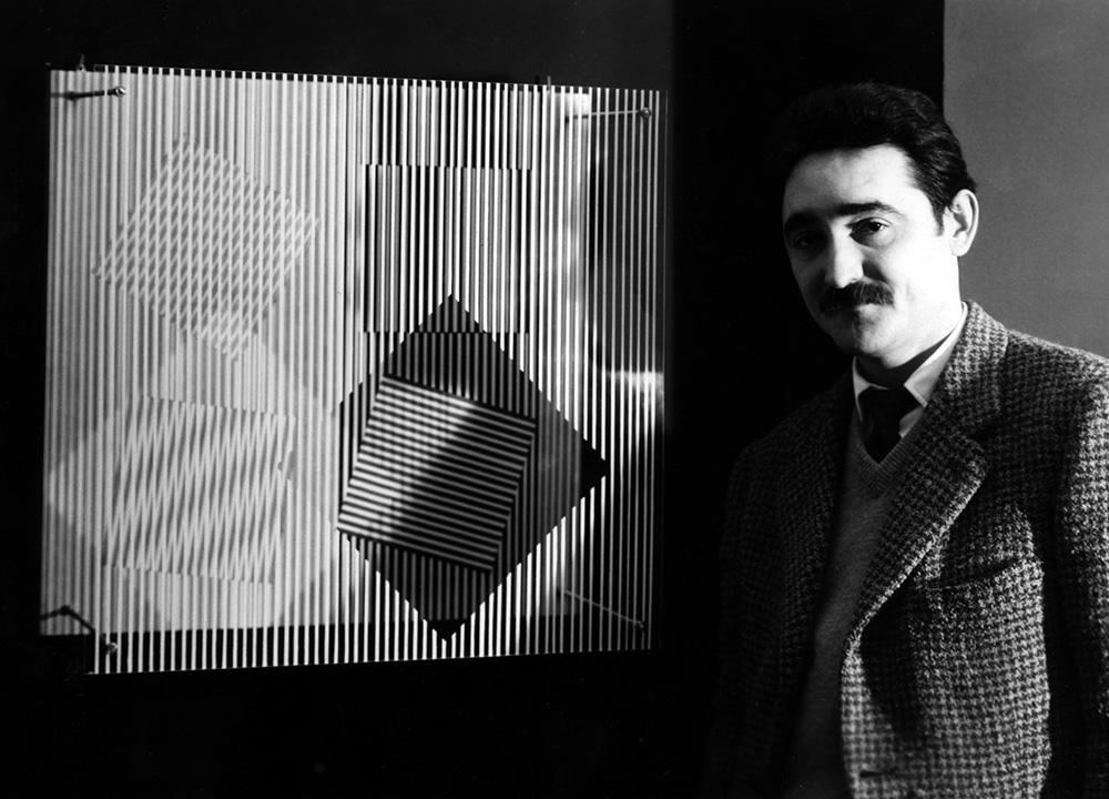 "Soto"" exhibition Denise René Gallery 1956"
