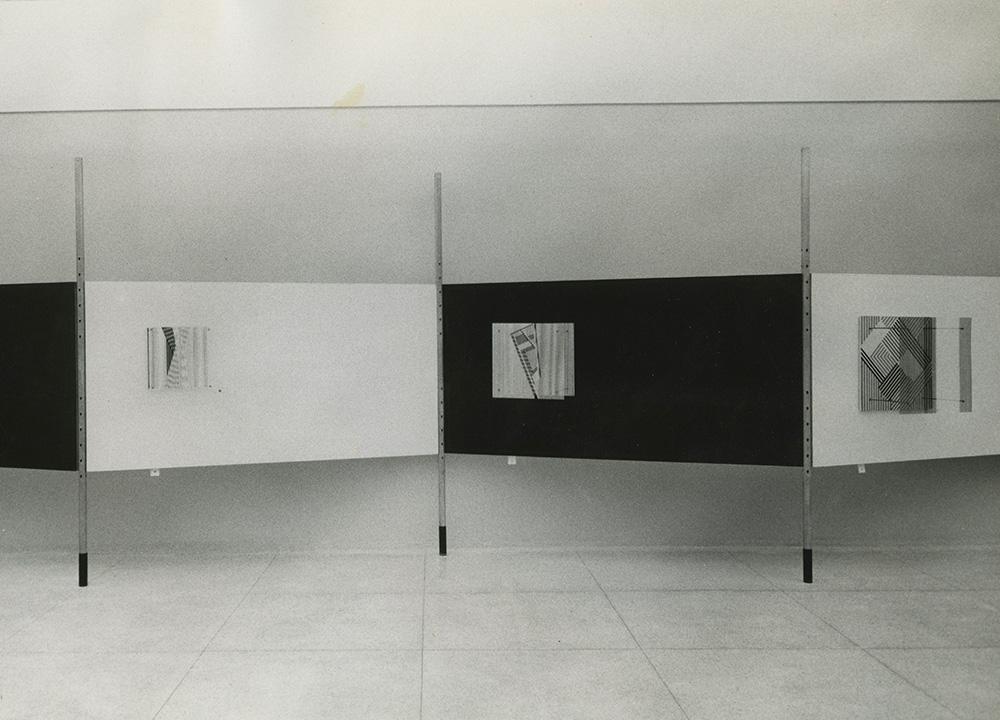 Soto estructuras cinéticas exhibition 1957 Museum of Fine Arts Caracas
