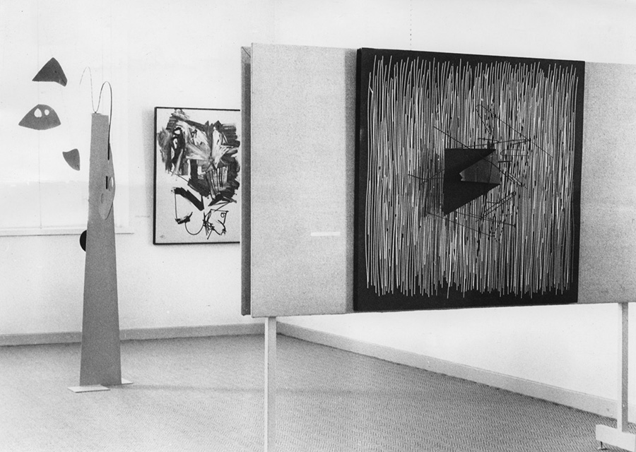 Soto exhibition Moderna Museet Stockholm 1959
