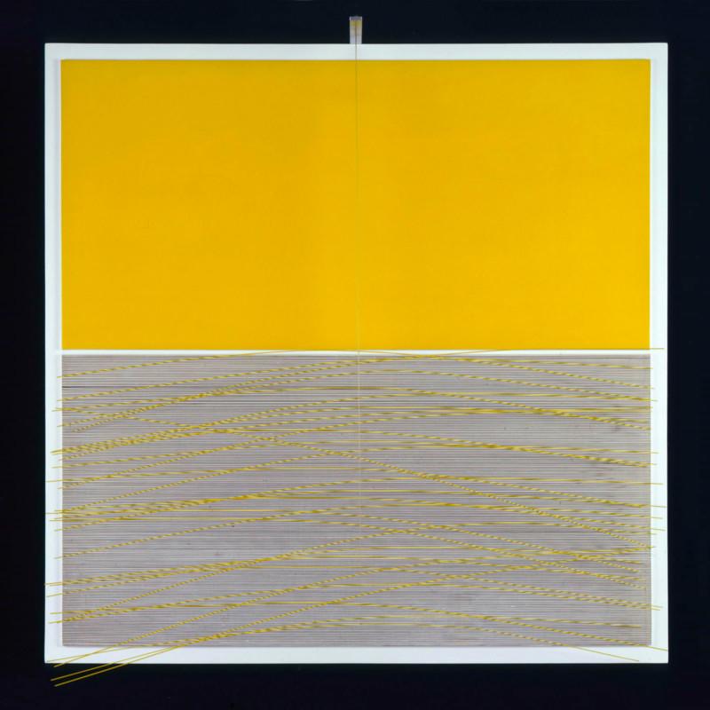 Jesús Rafael Soto Vibration jaune 1965