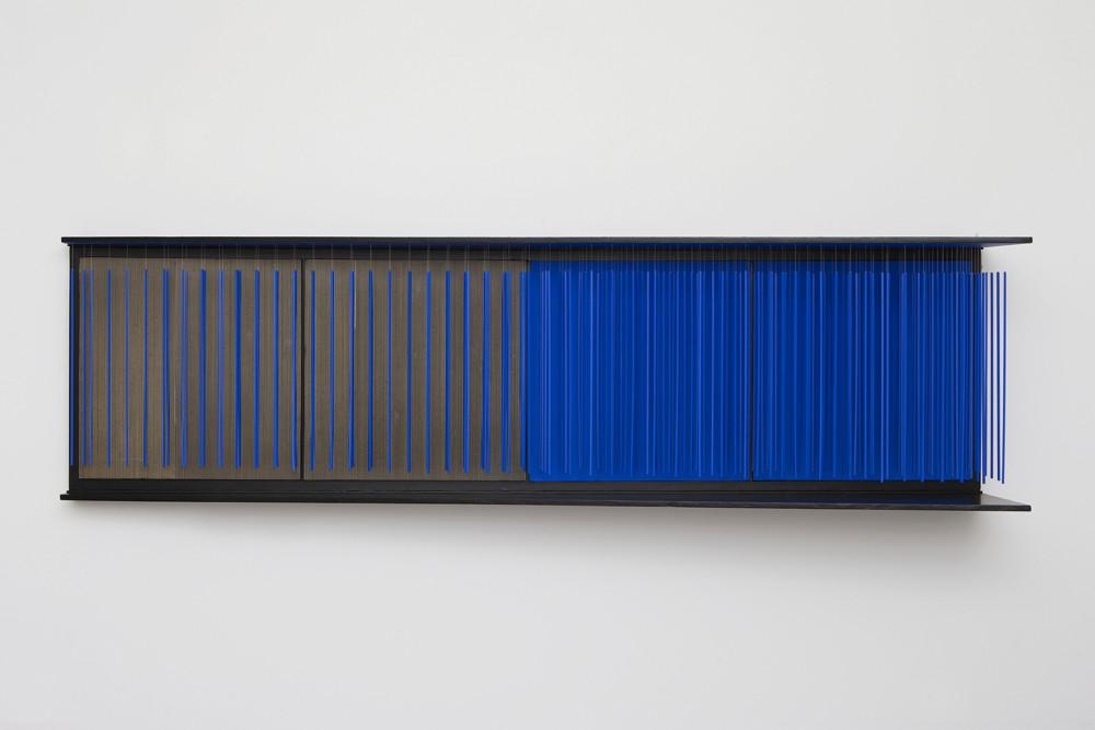 Jesús Rafael Soto mur bleu s/t 1966