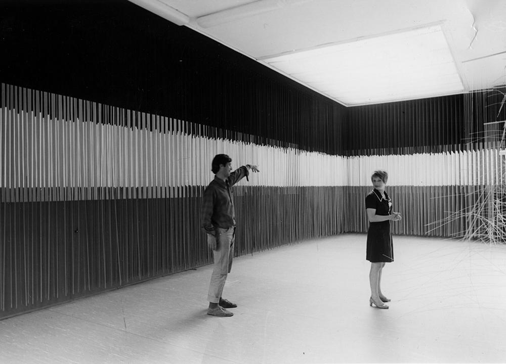 Jesús-Raphael Soto exhibition Kestner-Gesellschaft Hanover 1968