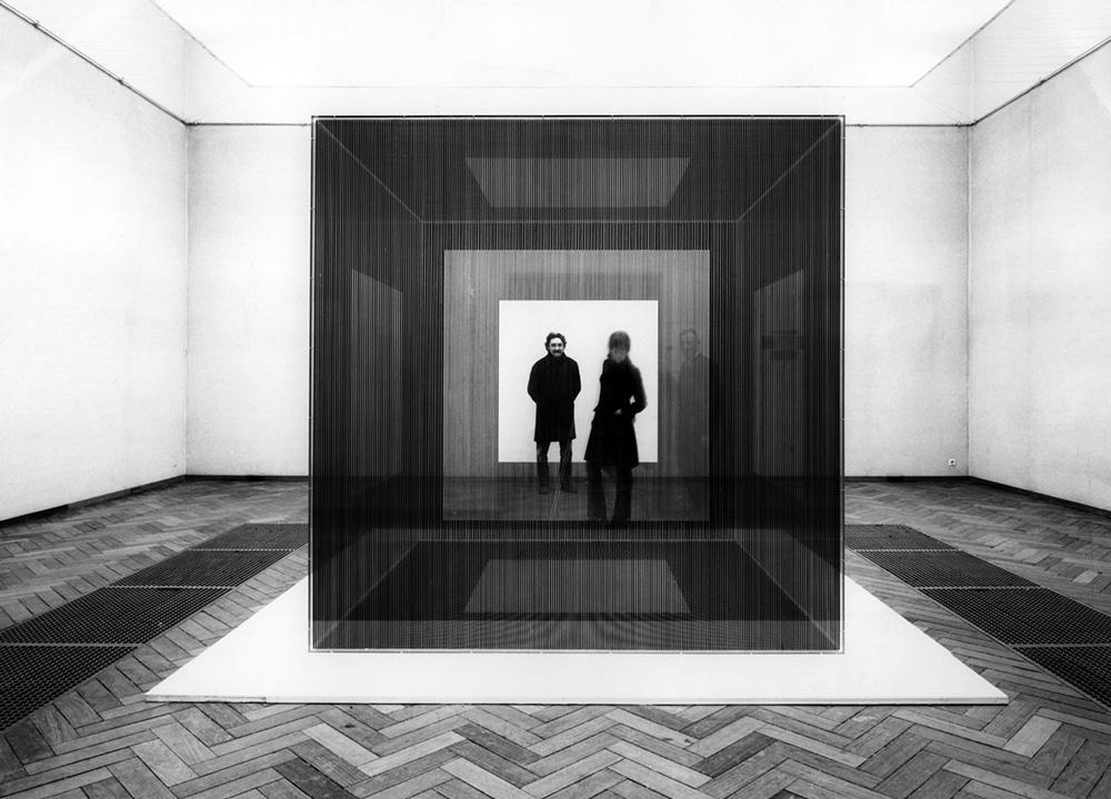 Soto exhibition Stedelijk Museum Amsterdam 1969