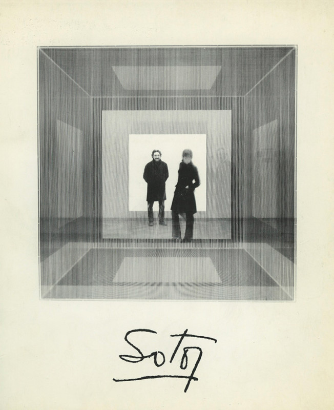 Jesús Rafael Soto exhibition catalogue Kunstverein Mannheim 1970