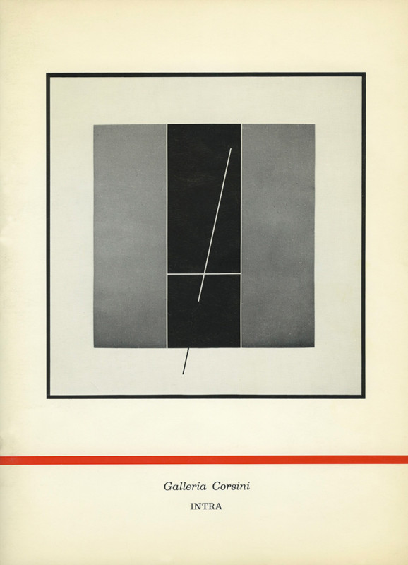 Raphael Soto exhibition catalogue Corsini Gallery Intra 1973