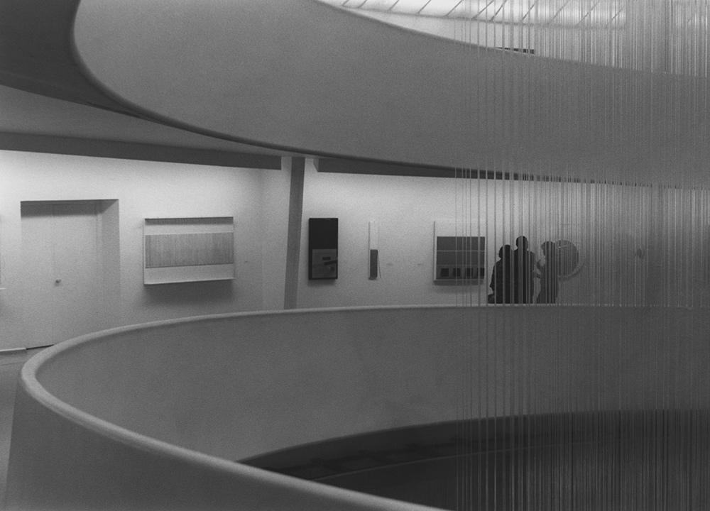 Soto retrospective exhibition Guggenheim Museum New York 1974