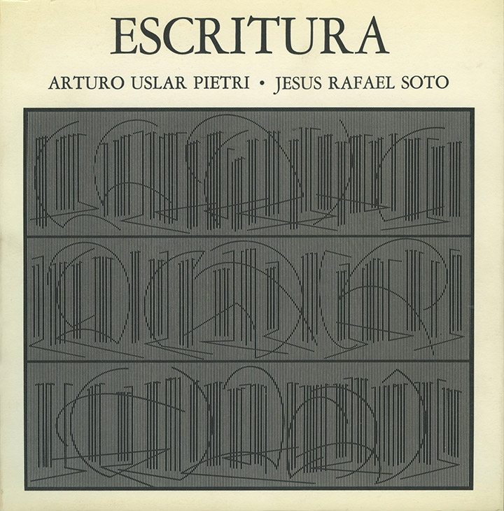 Soto Escritura exhibition catalogue Denise René Gallery 1978