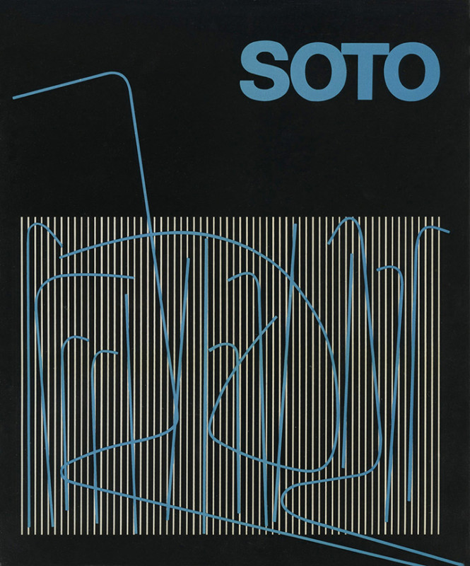 Soto exhibition catalogue Saragossa 1983
