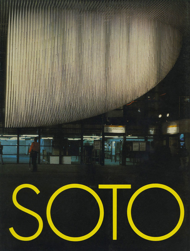 Soto exhibition catalogue Instituto de cultura puertorriqueña Porto Rico 1988