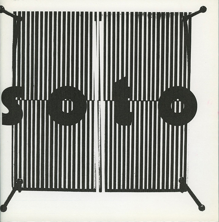 Soto exhibition catalogue Curitiba Brazil 1998