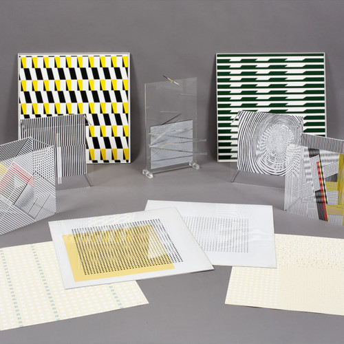 Jesús Soto Sotomagie Series 1967 Galerie Denise René Edition
