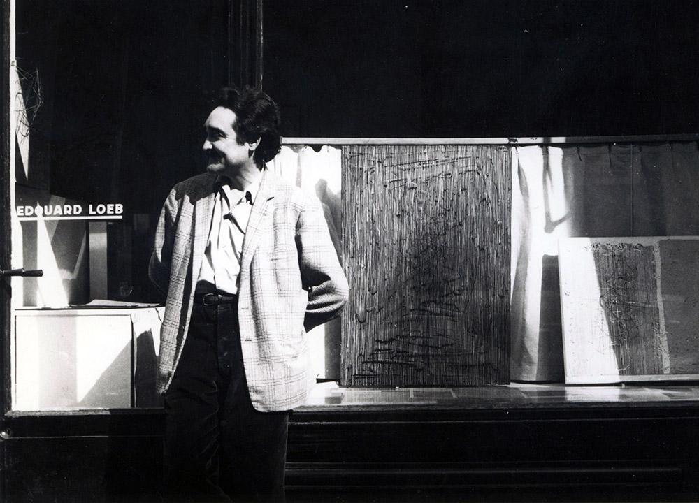 Soto exhibition 1962 Galerie Edouard Loeb