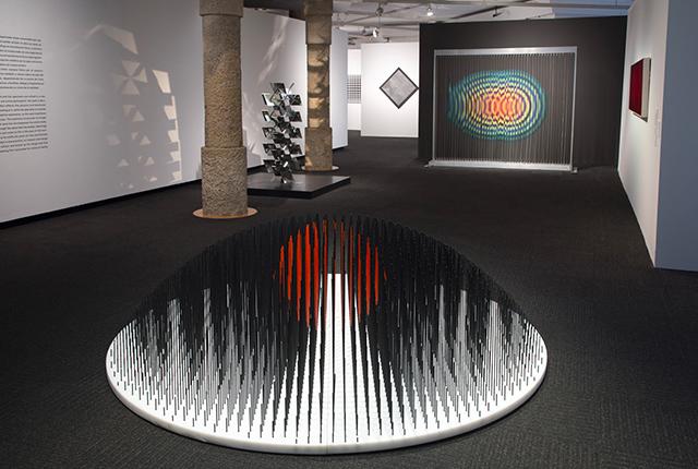 Soto Open Works exhibition La Pedrera Barcelona 2018 2019