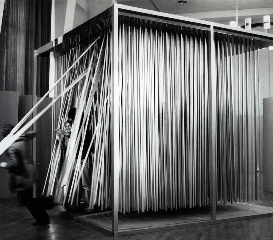 12 ans d'Art Contemporain en France exhibition Grand Palais Paris 1970