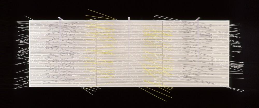 Soto Vibración gris y limón 1975