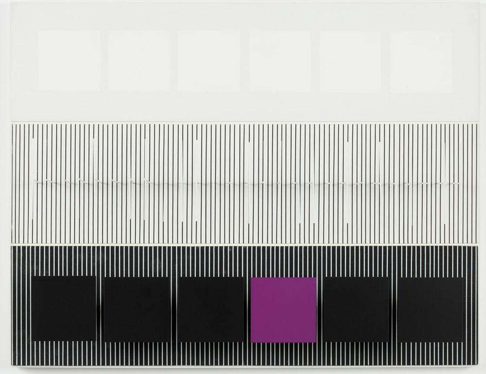 Soto Tres valores con violeta 1979