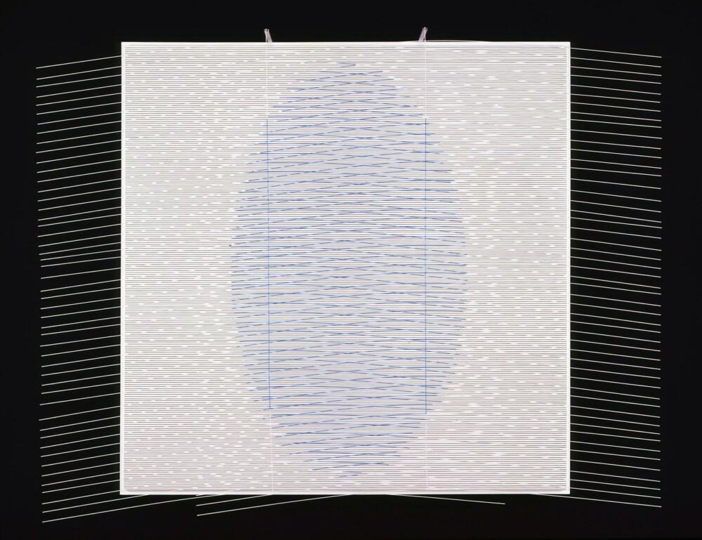 Soto Ovalo azul claro 1997