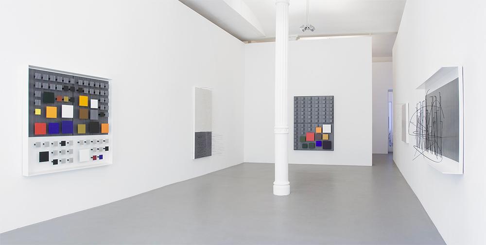 Jesús Rafael Soto exhibition Max Hetzler Gallery 2009