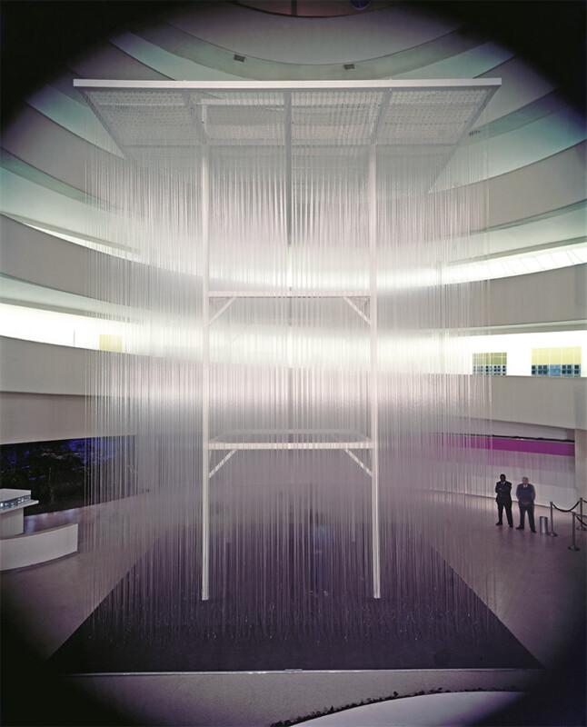 Soto Guggenheim Penetrable 1974