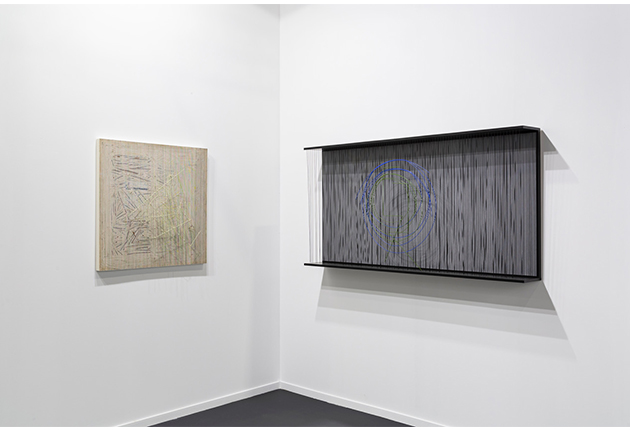 Soto at ARCO Madrid 2021 Stand Perrotin